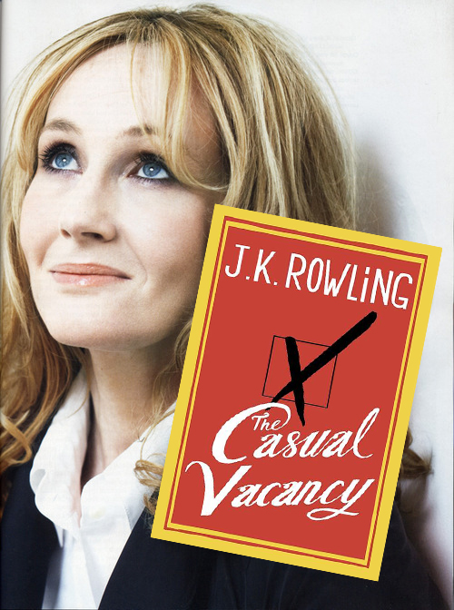 The Casual Vacancy by JK ROWLING - cover