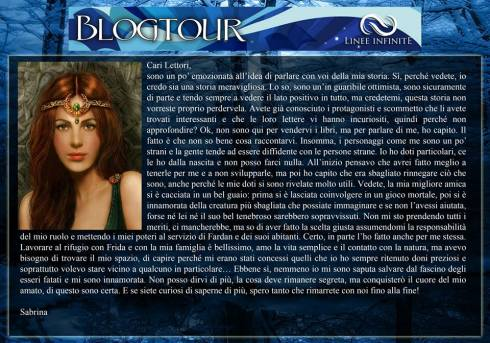 Sabrina si racconta - Blog Tour 30 agosto Silvia Marchesini
