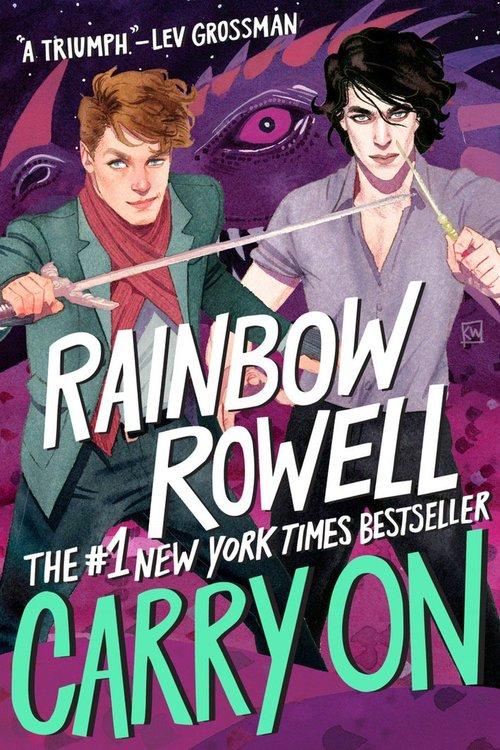 Risultati immagini per carry on rainbow rowell new cover